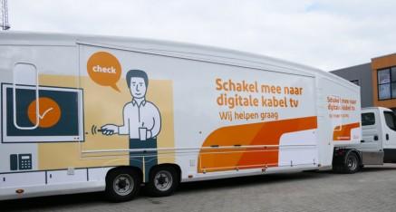 Ziggo Servicewagen in opdracht van Roscom Promotie.