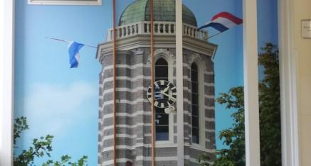Zorgcentrum het Zand in Zwolle, diverse deuren en raampartijen voorzien van full colorprints