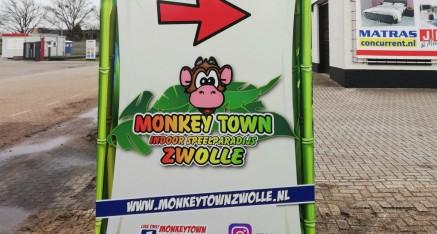 Monkey Town , dubbelzijdig frame