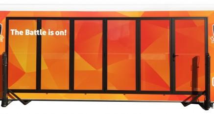 Ziggo, servicewagen in opdracht van Roscom Promoties
