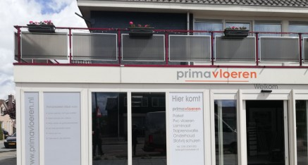 Prima Vloeren, bordreclame en full colorprints