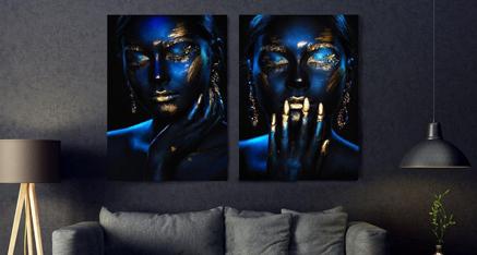 Feeling blue ✨ Onze nieuwe favoriet! Geef jouw interieur een sprankelende boost met deze foto op plexiglas! Wij hebben de nieuwste printers en kunnen deze afbeelding afdrukken op de hoogste resolutie voor jou ☺️