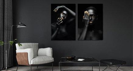 Golden details ✨ deze donkere foto met gouden details geeft het interieur in deze ruimte een echte gouden boost! Wil jij jouw woning ook een boost geven? 🙈
